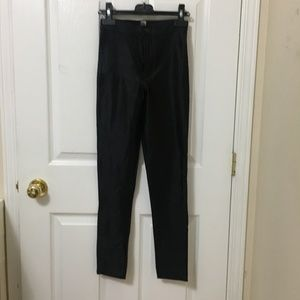 American Apparel Black Disco Pants